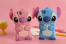 3D Stitch Phone Case Silicone For iPhone X XS Max XR 5 6 7 8 Samsung S7 S8 S9