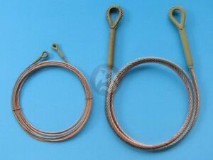 Eureka XXL 1/25 Metal Towing Cable for German Panther Ausf.G Tank WWII ER-2501