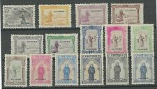 Portugal Azores 1895 St Anthony set of 15 hinged mint