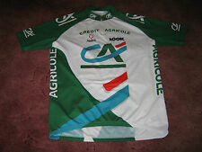 CREDIT AGRICOLE Look Nalini italien Vintage Cycling Jersey [7]