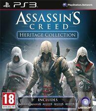 Assassins Creed Heritage Collection Assassin´s PS3  ESPAÑOL NUEVO CASTELLANO