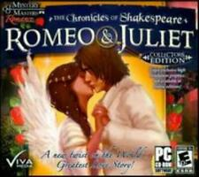 The Chronicles Of Shakespeare: Romeo & Juliet PC CD find seek hidden object game