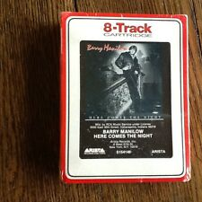 BARRY MANILOW HERE COM THE NIGHT 8 TRACK NEW SEALED RARE FREE USA SHIPPING CLUB