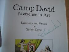 Camp David: Nonsense in Art - Drew, Simon  Published by ACC Art Books -SIGNED !!