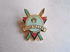 Vintage Deer Park Utah Ski Resort Area Enamel Souvenir Pin