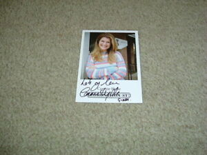 CONNIE HYDE - CORONATION STREET - SIGNED 6 X 4 PHOTO CARD