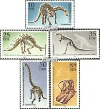 DDR 3324-3328 (complete.issue) unmounted mint / never hinged 1990 Dinosaur