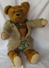 Alter Petz - Kiesewetter Coburg - Teddy Bär mit Glasknopf, 50 cm, 50er Jahre