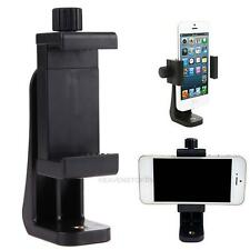 "Smart Cell Phone Clip Bracket Holder Mount For Tripod Monopod Stand w/1/4"" Screw"