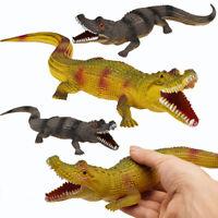 Crafts Vocal Toy Simulation Model Room Decor Vinyl 1Pc Ornaments Gift Crocodile