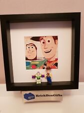 Disney Pixar Toy Story Minifigure 3D Frame Woody Buzz Lightyear Friend in Me