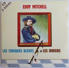 """EDDY MITCHELL - CD SINGLE """"LES TUNIQUES BLEUES ET LES INDIENS"""""""