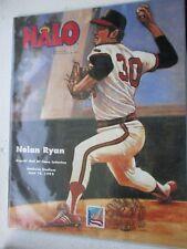 NOLAN RYAN HALO 1992 BASEBALL HALL OF FAME INDUCTION STAMPED/CANCELLED HOF 1999