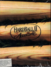 Accolade Hard Ball II (PC, 1991) 3.5 Floppy Disks - FACTORY SEALED
