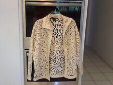 Ellen Tracy Size 6 Buttonless Jacket