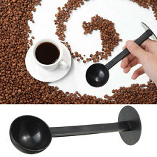 2 IN 1 Espresso Kaffee Löffel 10g Measuring Tampen Scoop Kaffee Tamper 10g Neu