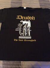 DRUDKH The Last Stronghold Shirt XL, Skogen, Saiva, Falkenbach, Moonsorrow,Ulver