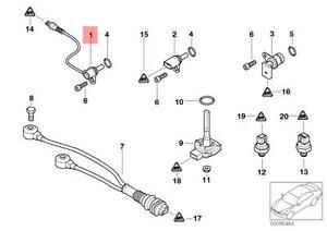 Genuine BMW E38 E39 E46 E53 E60 Camshaft Position Sensor CPS OEM 12147539165