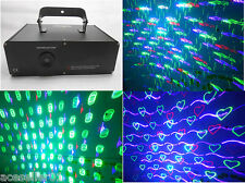 New RGB Full Color 2D/3D Laser Show Light,Cartoon DMX Laser Lighting Party Disco