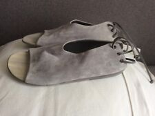 Woman's Marsell grey suede shoes size 38.5