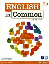 English in Common 1B Split : Student Book and Workbook with ActiveBook by Maria