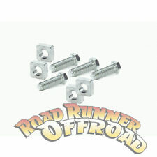 Winch Mounting bolts Set Warn Low Mount  4 bolts and square Nuts