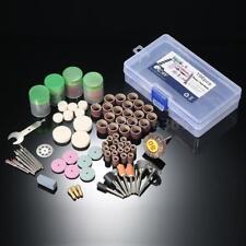 196pcs / Set Rotary Tool Accessory Kit Fits For Grinding Sanding Polishing S7J9