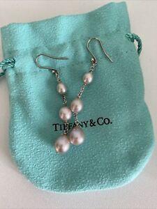 Tiffany Pearl Drop Earrings