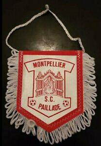 ⚽️ RARE!! ANCIEN!! fanion SC Paillade Montpellier  ETAT NEUF!! ⚽️