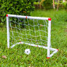 Infantil Niños Entrenamiento Fútbol Soccer Portería Red Bomba Jardin Exterior