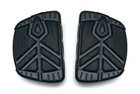 Kuryakyn 5653 Spear Mini Boards without Adapters, Satin Black