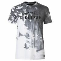 Mens Firetrap Sub The City T Shirt Crew Neck Short Sleeve New