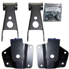 "4"" Chevy Lowering Kit Rear Axle Drop Hangers 1999-2006 GMC SB 1500 Drop Shackles"