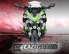 Eazi-Guard™ Kawasaki Z1000SX 2017 Motorbike Stone Chip Protection Kit