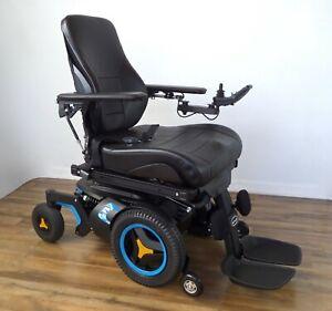 Permobil F3 wheelchair - power recline, leg lift, Bluetooth PJSM remote #7916
