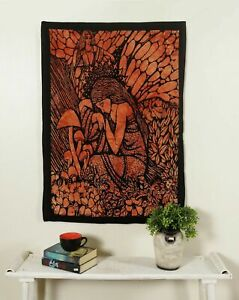 Tapestry Indian Fairy Angel Decor Cotton Hippie Bedroom Wall Hanging New Poster