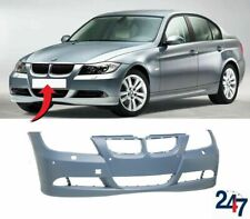FRONT BUMPER WITH LIGHT WASHER AND PDC HOLES FOR BMW 3 E90 E91 05-08