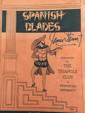 SPANISH BLADES BY JAMES STEWART *SIGNED*FIRST EDITION*