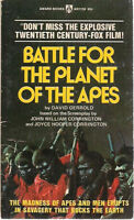BATTLE FOR THE PLANET OF THE APES by David Gerrold (1974) Award pb
