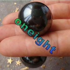 Wow!!! 2PCS 25mm Magnetic Hematite Sphere Crystal Ball Healing