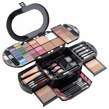 Professional Makeup Case Artist Kit Set Box Eye Shadows Lip Gloss Face Powder 90