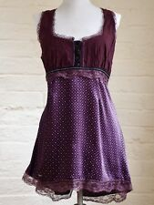 Pretty Purple And Patterned Top