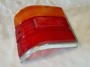 FORD TAUNUS 12M15M P6 TURNIER 1966-70 TAIL LIGHT LENS + FRAME LH N O S!  463193
