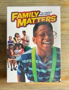 Family Matters: The Complete Series Seasons 1-9 1 2 3 4 5 6 7 8 9 Brand New USA