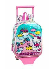 Hello Kitty Candy Unicorns Mochila guardería ruedas, carro, trolley