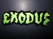 Vintage Vtg 80s Embroidered Rock & Roll Band Music Patch - Exodus