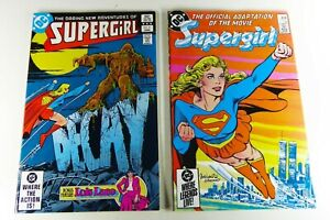 DC SUPERGIRL (1983) #3 VF+ + MOVIE SPECIAL (1985) #1 VF Lot Ships FREE!