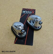 Shaw caisse claire/tom tom tension lug/support (chrome) (paire) 002-103-104SW