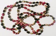 collier ancien fantaisie perle en forme de coeur de couleur relief * 4459
