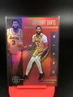 2019-20 Panini Illusions Anthony Davis Ruby Red Parallel SP To /199